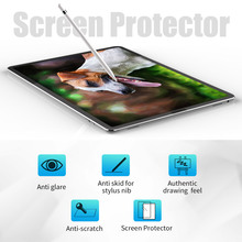 цена на PET Paper Like Screen Protector Film Matte Anti Glare Non Smooth Painting for iPad pro 9.7 10.5 11 12.9 inch