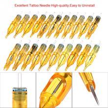 10PCs Disposable Tattoo Cartridge Needles Tattoo Makeup 3RL/5RL/7RL/9RL/5M1/7M1/9M1/5RS/7RS/9RS for Microblading Tattoo Machine