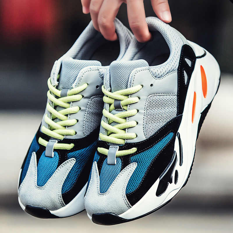 a55b025d93b53 FlyingCourier 2019 Best Quality Classic Running Shoes with Wave Runner 700  Boosts Sports Shoes Fashion Sneaker