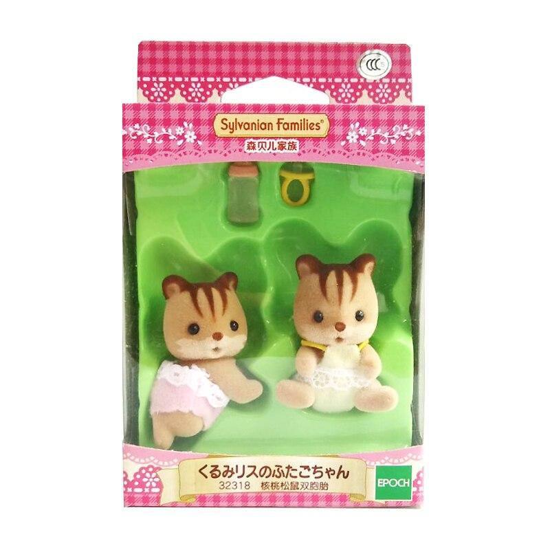 Sammeln & Seltenes Pretend Spielen Intellektuell Sylvanian Families Puppenhaus Pelzigen Baby Puppe Zubehör Squrriel Twins W/flasche Mädchen Geschenk Neue #32318 Klar Und Unverwechselbar