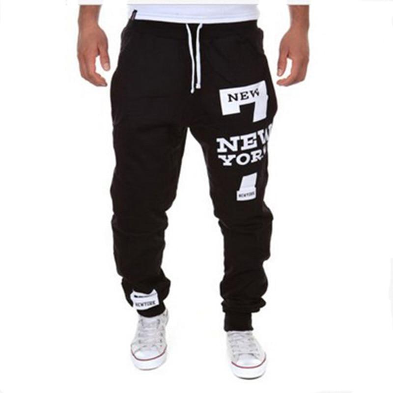 Mens Joggers Fashion Casual Men Pants Skinny Joggers Hip Hop Sweatpants Harem Pants M 3XL-in ...