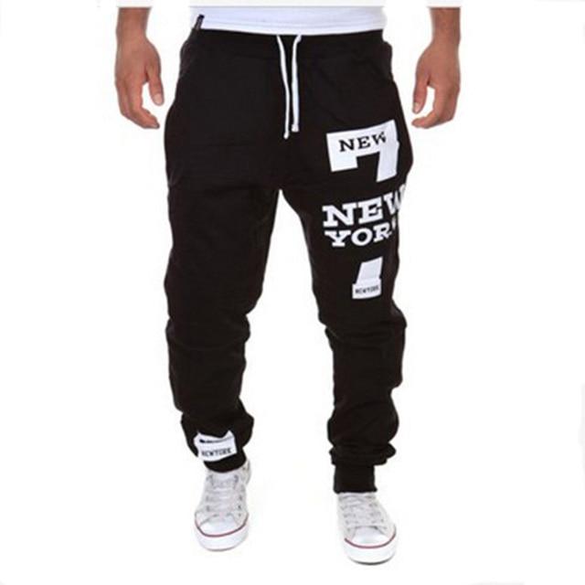 9f8b65c025789 Pantalones para hombre moda casual hombres Pantalones skinny joggers hip  hop Pantalones harem m-3xl