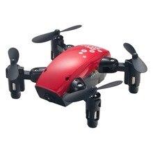 Bolsillo RC Drones 1806A Wifi FPV con la cámara Hd de 6 ejes giroscopio plegable autofoto Drone una retorno clave modo RC helicópteros