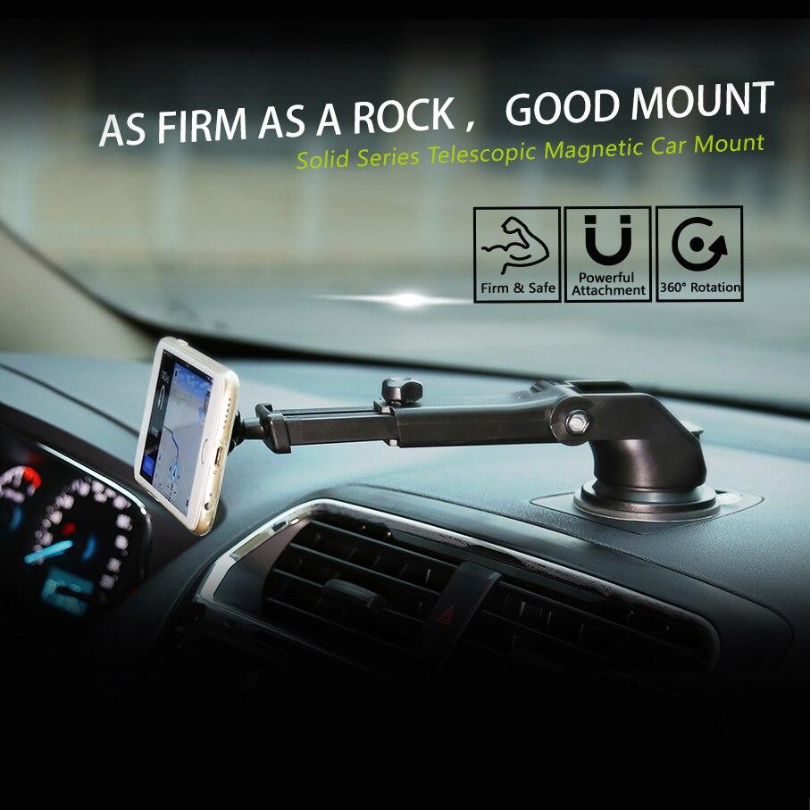 Baseus magnetisk bilhållare för iPhone 11 Pro Xs Max Teleskopisk - Reservdelar och tillbehör för mobiltelefoner - Foto 2