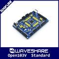 Waveshare Open103V Стандартный STM32F103VET6 STM32F103 ARM Cortex-M3 STM32 макетная плата + PL2303 USB UART модуль