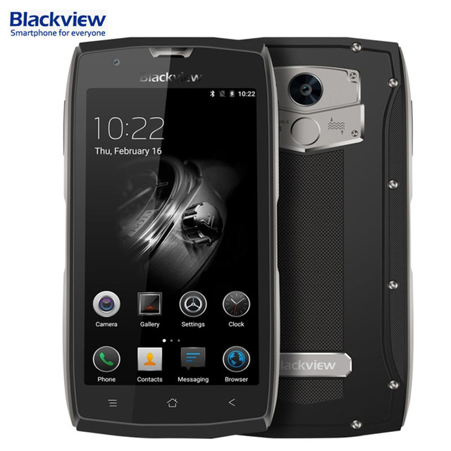 4G Blackview BV7000 Pro 4GB/64GB IP68 Waterproof Back Fingerprint Identification 5.0'' Corning Gorilla Glass 3 FHD IPS Screen