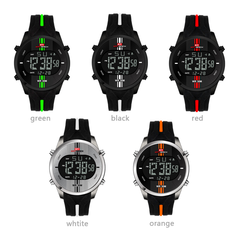 Permalink to Digital Watch Men KAT-WACH Electronic Watch Sport Camo LED Clock Male Digital relogio masculino Cheap Waterproof Watch Digital