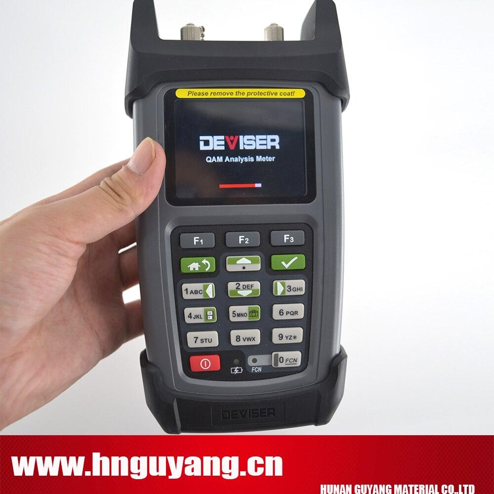 Deviser DS2460Q catv QAM Analyze Mètre Rapide analyze de spectre construit dans TDR