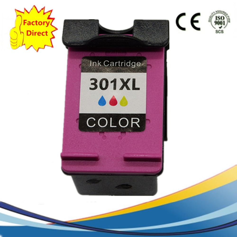 Ink Cartridges Remanufactured For HP301 XL 301XL HP301 <font><b>HP301XL</b></font> Envy 4500 4502 4504 4505 5530 5532 5539 Officejet 2620 4630 image