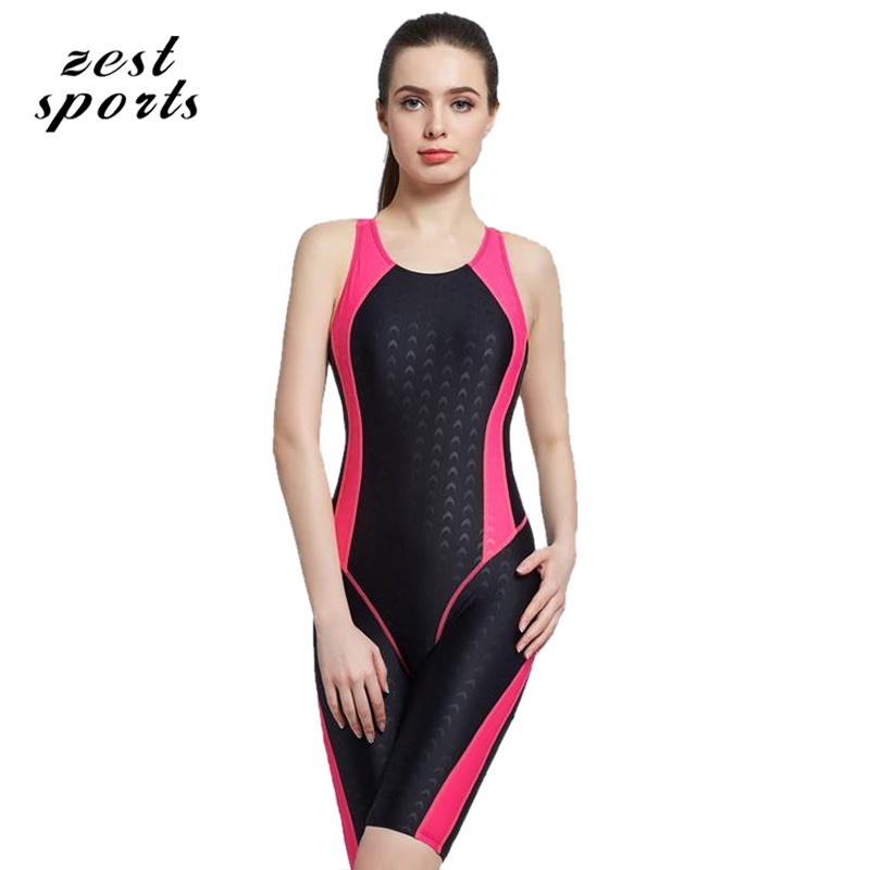 6001, women Conjoined  professional sports swimwear, Knee-length pants swimsuit, imitation shark skin,waterproof quick-dry чайник bosch twk 6001