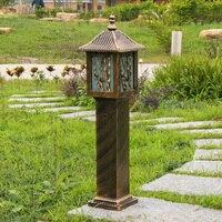 Европейский стиль Светодиодный светильник Открытый свет лампы Водонепроницаемый Пейзаж Сад района street FG198