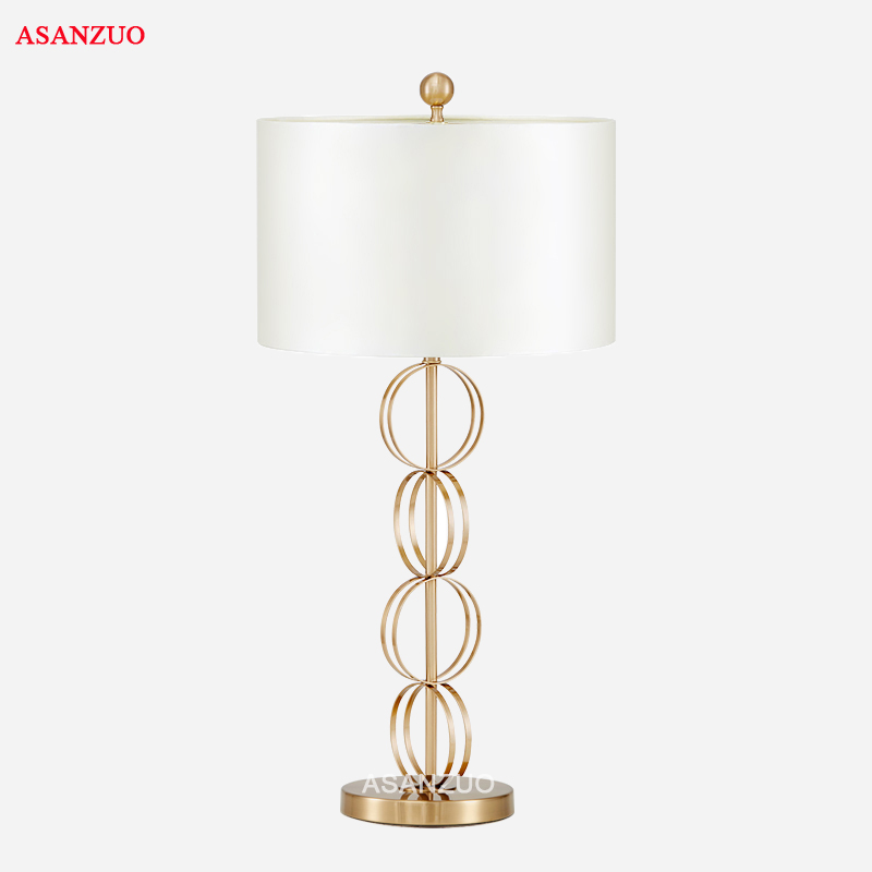 American post-modern Nordic bedroom table lamp creative personality cloth cover living room LED fixture lighting nordic pendant lights minimalist modern living dining room lamp bedroom study children s creative cloth cover wood e27 lighting