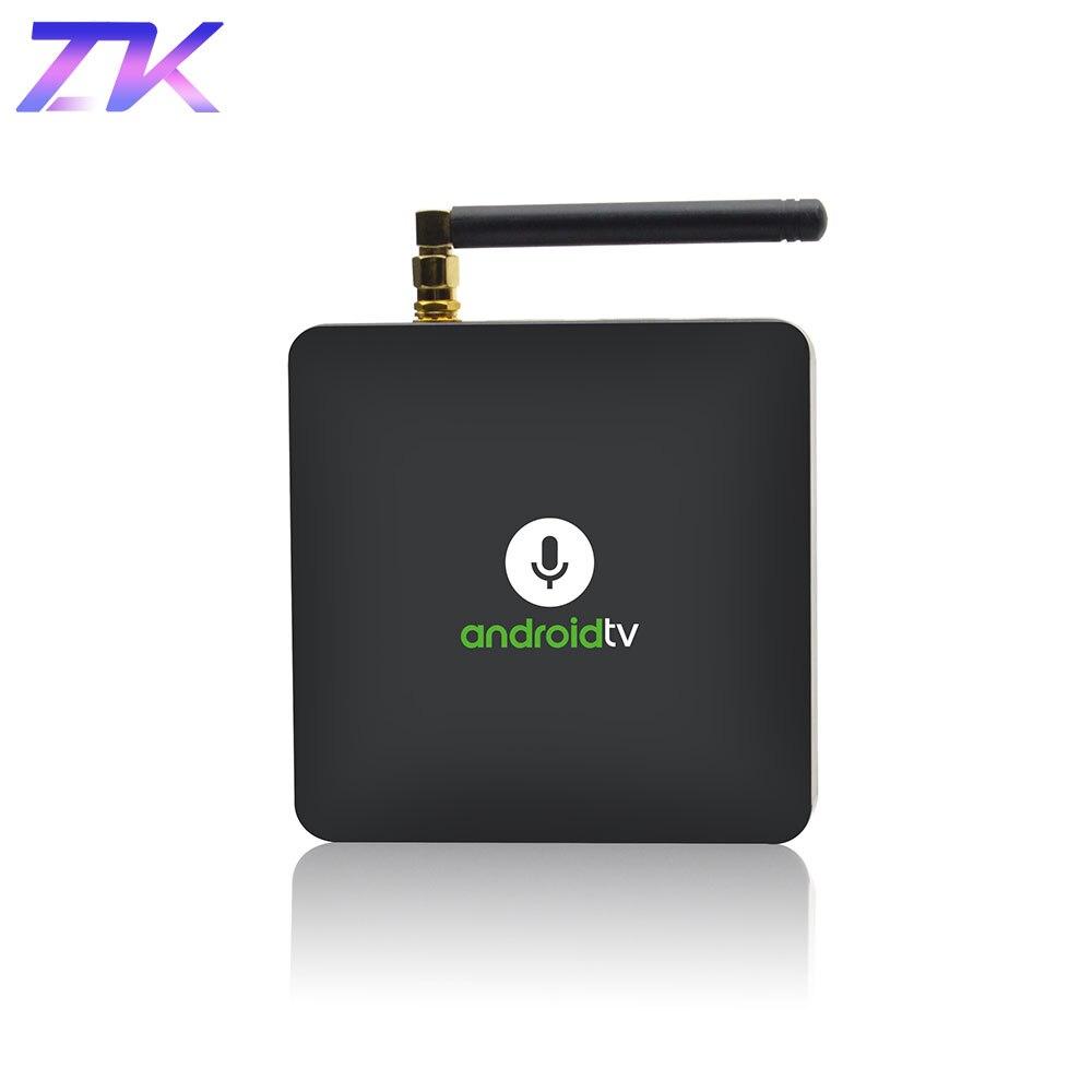 MECOOL KM8 Android Google TV Box 2GB 16GB BT4.2 Amlogic S905X 64 bit Quad-core WIFI Media Player Smart Android TV Attachment mecool km8 atv 4k media player google home google voice control smart tv android 8 0 amlogic s905x 2gb ddr3 16gb ott tv box