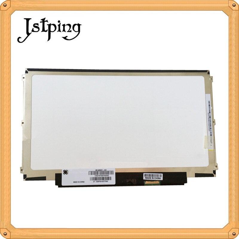 Jstping 12.5 pouces haute résolution EDP écran LCD pour BOE HB125WX1-201 HB125WX1 ordinateur portable LCD écran d'affichage LED panneau