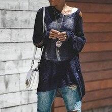 Elegante Otoño Invierno sólido suéter mujer 2018 suéteres de punto mujeres  v cuello tops transparente punto Mujer Tops Pull Femm. e4fbb051f769