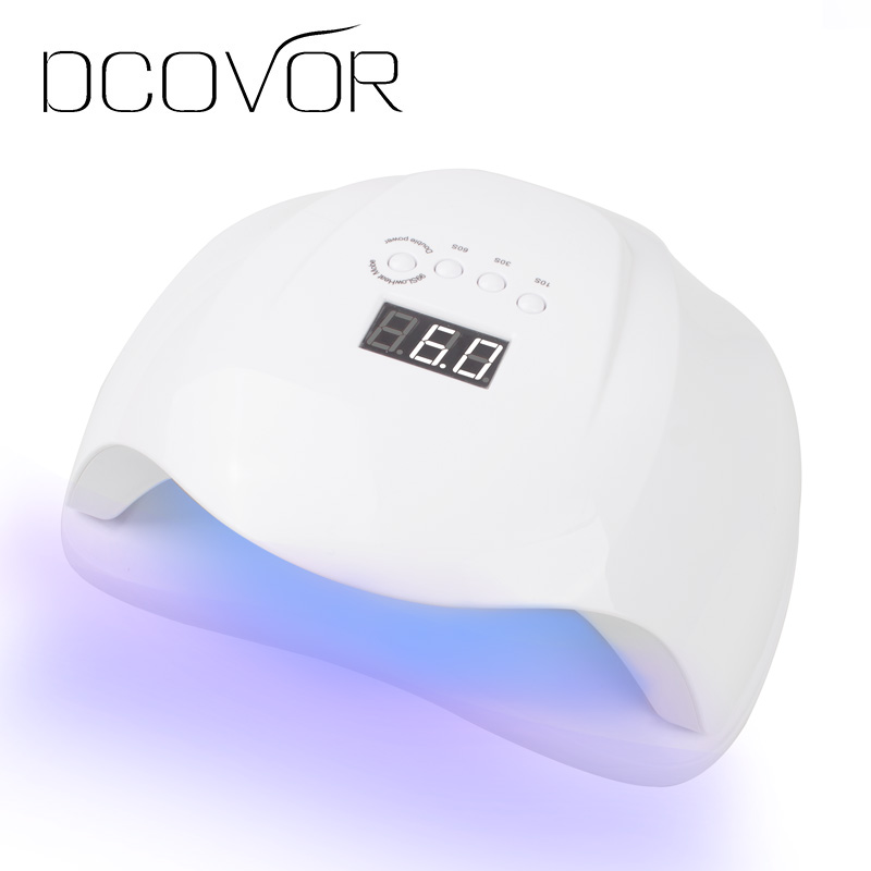 DCOVOR SUN X 48/54W Nail Dryer UV LED Lamp LCD Display 36 LEDs Dryer Lamp for Curing Gel Polish Auto Sensing Nail Manicure Tool gustala 50w uv led lamp automatic smart nail dryer for nail equipment lcd display manicure tool for curing gel polish 100 240v