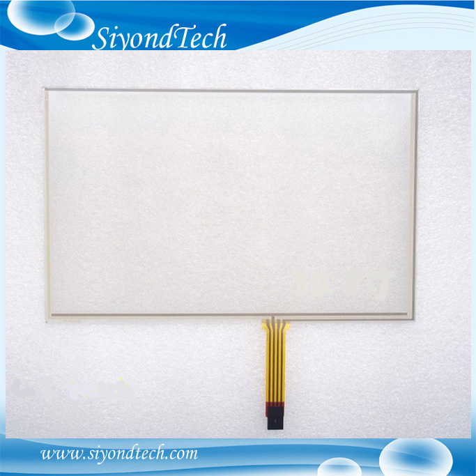 Computer & Office Objective Free Shipping!!!5pcs/lot New 10.2 235mm*145mm 4 Wire 16:10 Resistive Touch Screen Digitizer For Lcd Led Screen
