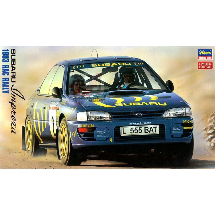 1/24 Subaru Impreza WRX 1993 RAC Rally 20297 subaru impreza насос гур