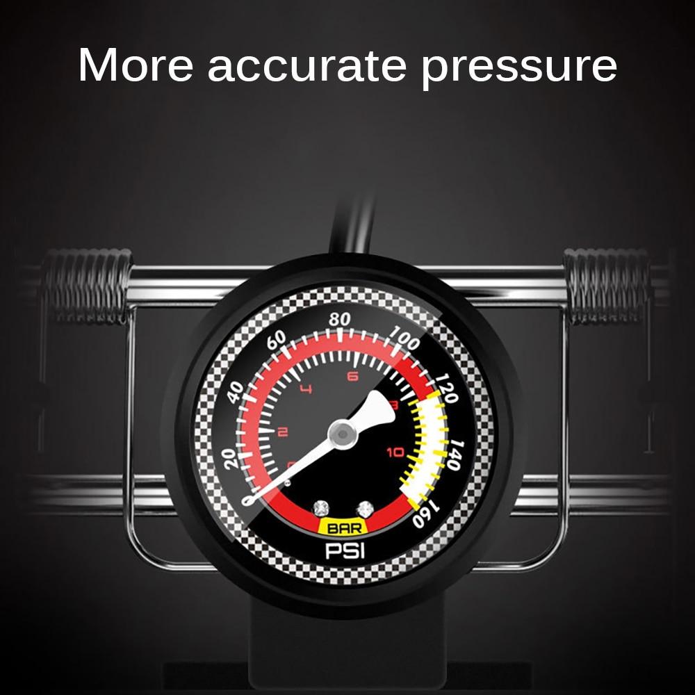 Image 4 - для электросамокат Высокое давление педаль воздушный насос один двойной цилиндр надувной MTB дорожный для велосипеда, мотоцикла, машины, надувной скутер Xiaomi M365 электро самокат-in Велосипедный насос from Спорт и развлечения