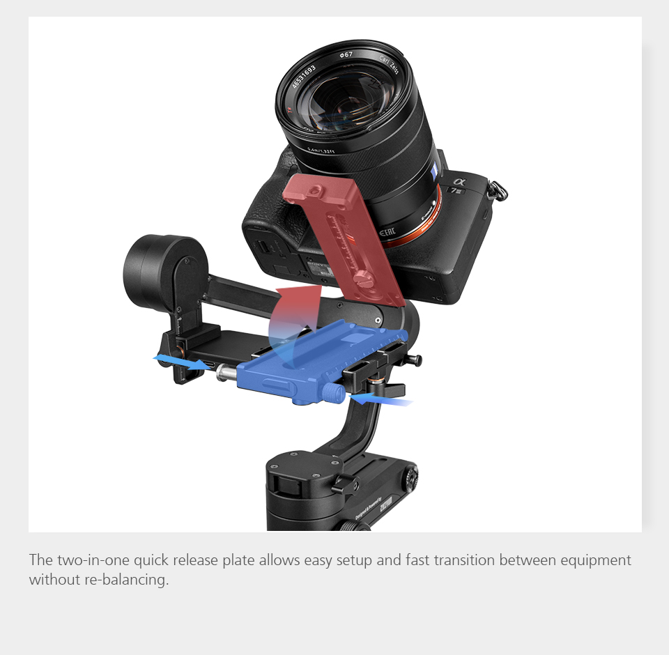 ZHIYUN Official Weebill LAB 3-Axis Image Transmission Stabilizer for Mirrorless Camera OLED Display Handheld Gimbal 6