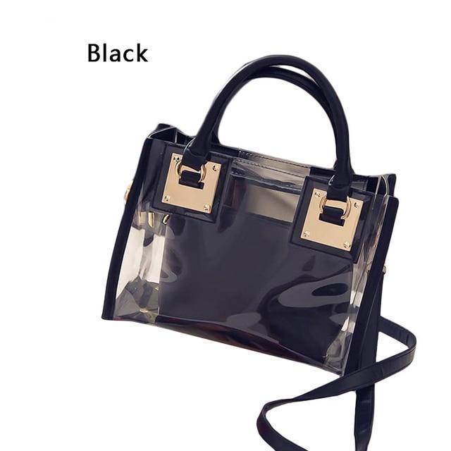 Women Transparent Bag Clear...