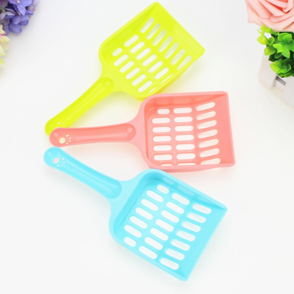 2pcs/lot Plastic Litter&Housebreaking For Cleaning Dogs Cats Poo Tool For Animal Toilet Dogs Product With Blue Pink Yellow Color