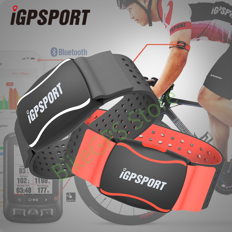 iGPSPORT HR60 Heart Rate Monitor Arm Photoelectric Heart Rate Monitor LED light warning Support bicycle Computer & Mobile APP-in Bicycle Computer from Sports & Entertainment    1