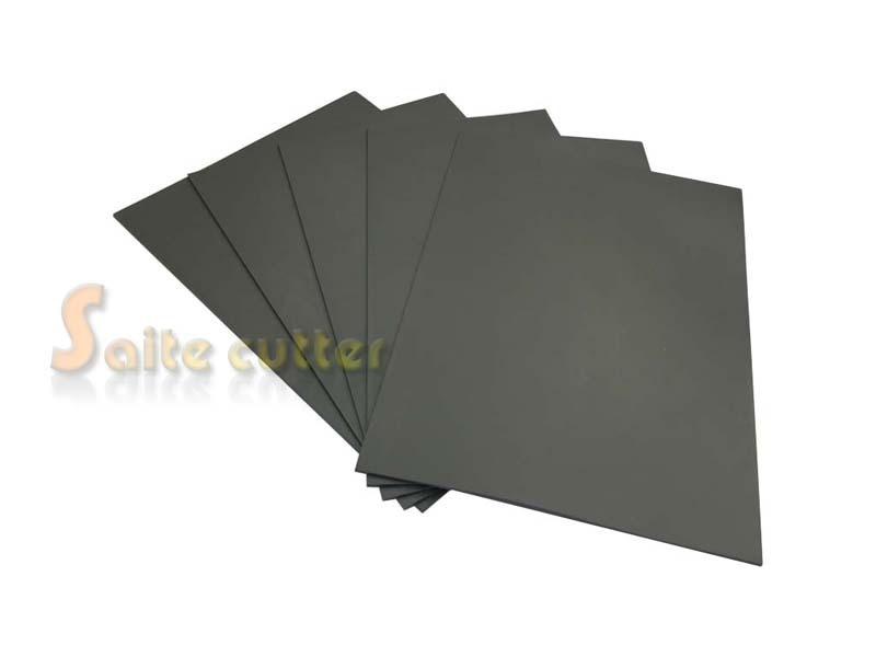 Co2 Laser Rubber Sheet K40 Stamping Printing Engraving Engraver 3020 DIY Stamp A4 Size 2.3mm Low Odor Gray
