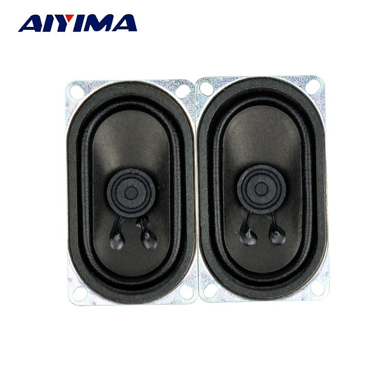 Aiyima 2PC Audio Speaker 4Ohm 3W Loudspeaker 40*70MM Rectangular Speakers