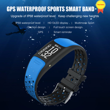 smart Bracelet GPS Fitness Tracker Watches Band Heart Rate Monitor oled screen Step Counter Alarm Clock GPS Wristband pk fit bit id115 smart bracelet fitness tracker step counter activity monitor band alarm clock vibration wristband for iphone android phone