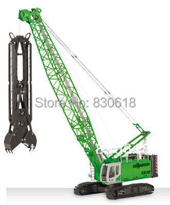 ROS Sennebogen 690HD Crawler Crane Diaphragm Wall Grab 1/50 Diecast Toy Model-free postage toy