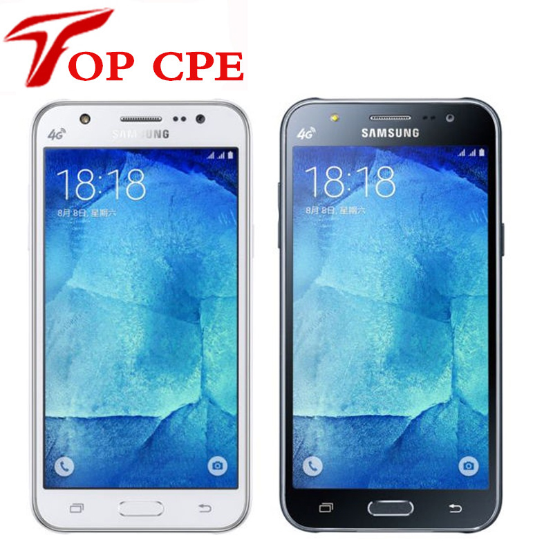 Original unlocked Samsung Galaxy J5 J500F J500H  8GB ROM 1.5GB RAM 1080P 13.0MP Refurbished  Mobile phone Drop shipping