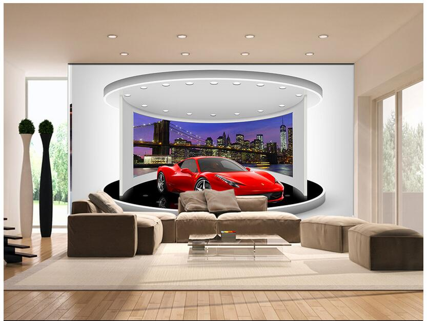 Custom photo 3d wallpaper Non-woven mural picture wall sticker The car window at night  painting 3d wall room murals wallpaper custom photo 3d wallpaper mural non woven the wolf in the night background wall painting living room wallpaper for walls 3d