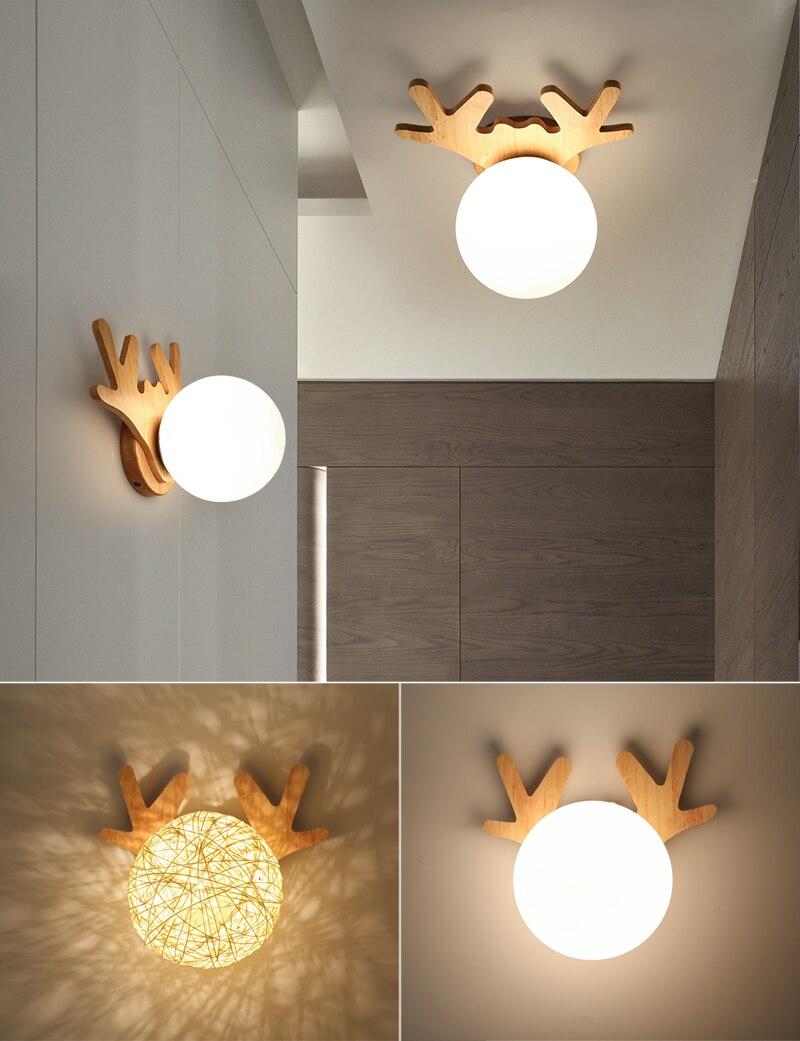 E27 ferro 5w ferro madeira lâmpada do