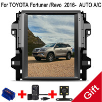 12.1 Tesla Type Android 7.1 Fit TOYOTA Fortuner /Revo 2016 AUTO A/C Car DVD Player Navigation GPS Radio