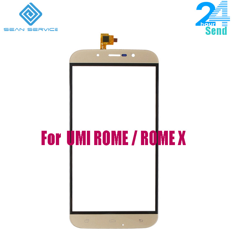 For Original UMI ROME ROME X Touch Screen Digitizer Sensor Front Panel Glass Replacement +Tools 5.5 inch in stock