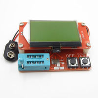 LCR T5 ATmega328 Transistor Tester 12864 LCD Capacity Meter
