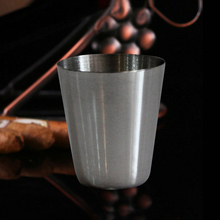 Metal brewing wine cup Liquor Bar Accessories 1 oz special for outdoor supplies drink wine cup water cup hot in russia