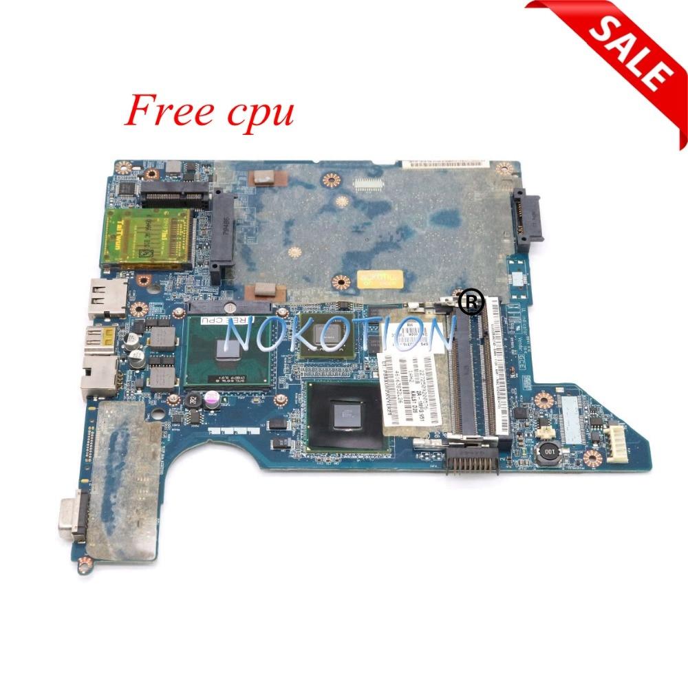 все цены на NOKOTION JAL50 LA-4103P 590316-001 577512-001 Laptop motherboard for HP Compaq presario CQ40 GeForce G103M Main board free cpu
