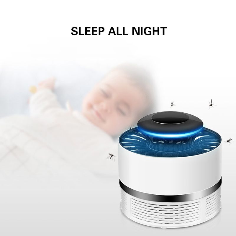 Household Mute Safety Photocatalyst Mosquito Killer Lamp USB Rechargeable AntiMosquito Repellent Light Insect Killer household photocatalyst led mute usb mosquito killer
