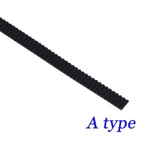 Image 2 - 100 m/partia pu ze stalowym rdzeniem GT2 pas czarny kolor 2GT pasek rozrządu 6mm szerokość do drukarki 3d darmowa wysyłka