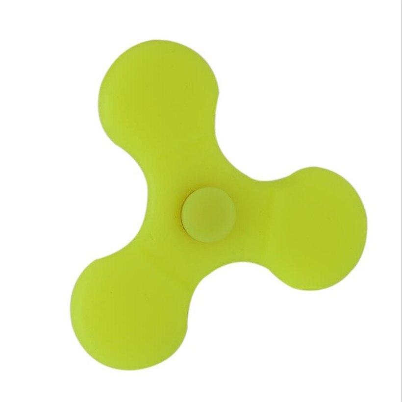 Fidget spinner triangle magic luminous silicone fingertips gyro finger spinner hand spinner edc spiner anti stress toys