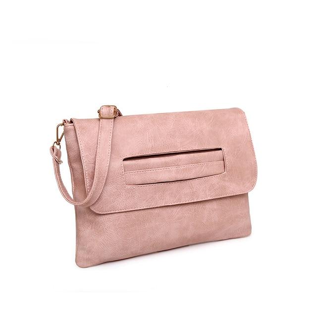 SWDF New Fashion Women Envelope Clutch Bag Leather Women Crossbody Bags Women Trend Handbag Messenger Bag Female Ladies Clutches 1
