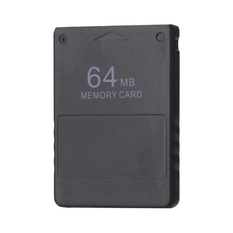 High Quality Black 64MB 64M Memory Card Save Game Data Stick Module For Sony Playstation 2 PS2 Extended Card Game Accessories
