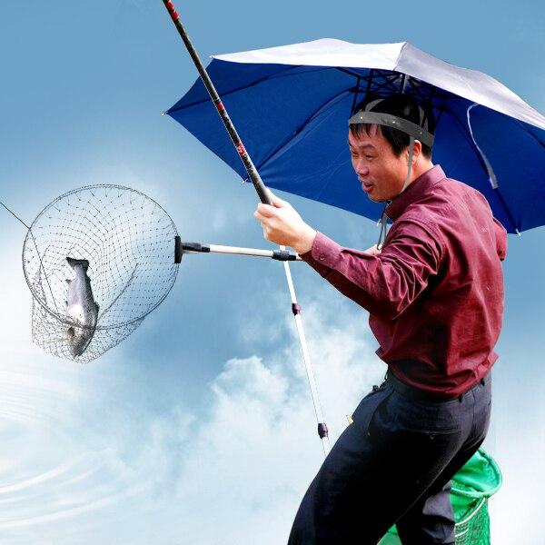 Professional anti-uv umbrella hat fishing hat shading large diameter  portable promotional fashion and personality 441843c22fd