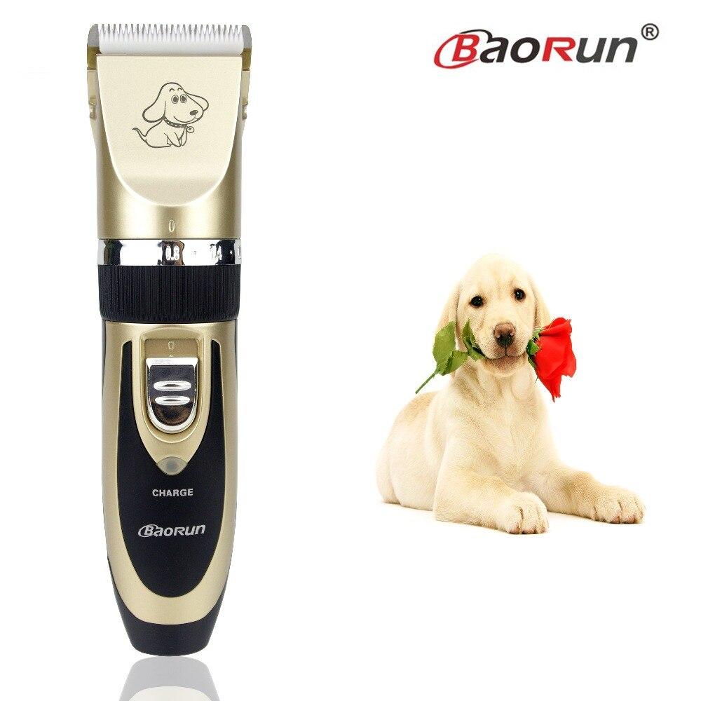 2018 Professional Kit Recarregável Cat Dog Pet Grooming Cabelo Conjunto Trimmer Clipper Barbeador Elétrico de Alta Qualidade Máquina De Corte De Cabelo