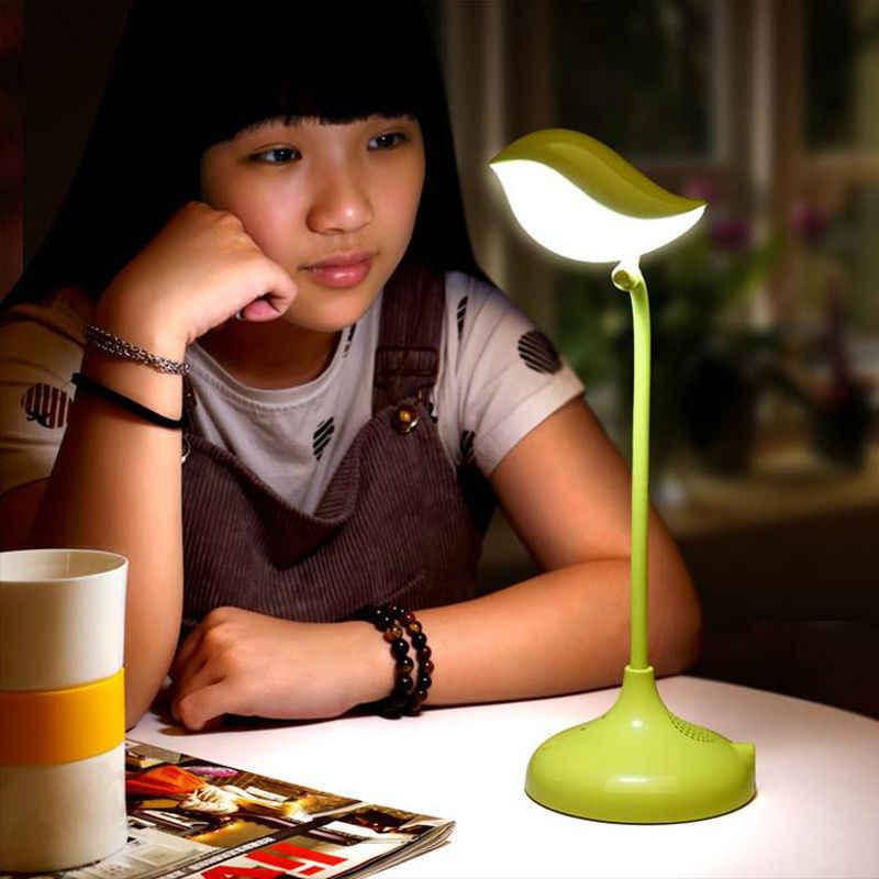 [YGFEEL] lámparas de mesa, regalo de pájaro creativo y encantador, luz de lectura regulable, ajuste de 360 grados con USB DC5V 500MA, batería de litio