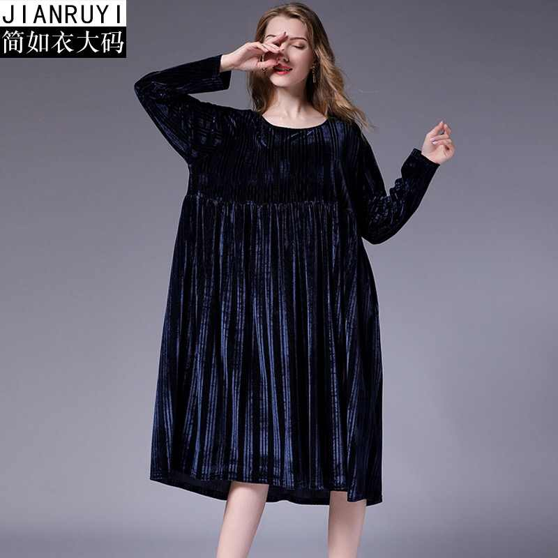 d84208138783 ... 2018 Maternity Christmas Dresses Winter Pregnancy Clothes Plus Size  Long Sleeve Velour Striped Maxi Shoulder Evening ...