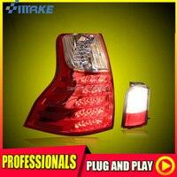 SmRKE для Toyota Prado светодиодный фонарь задний фонарь светодиодный DRL + тормоз + Park + стоп сигнал стайлинга автомобилей