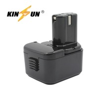 KINSUN Replacement Power Tool Battery 12V 3.0Ah Ni-Mh for Hitachi Cordless Drill EB 1212S 1214L 1214S 1230HL 1220BL
